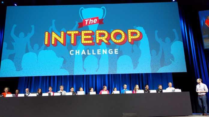 Bei der Interop-Challenge mussten die Teilnehmer eine WordPress-Umgebung instanziieren.