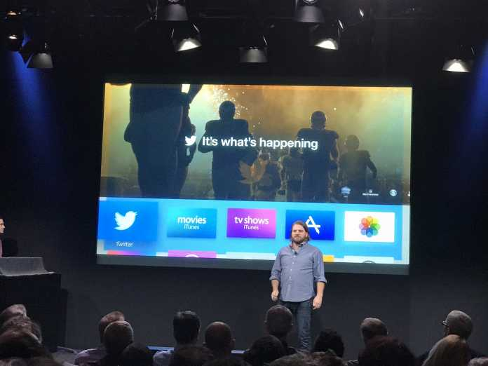 Ryan Troy at the oct 2016 Apple Event