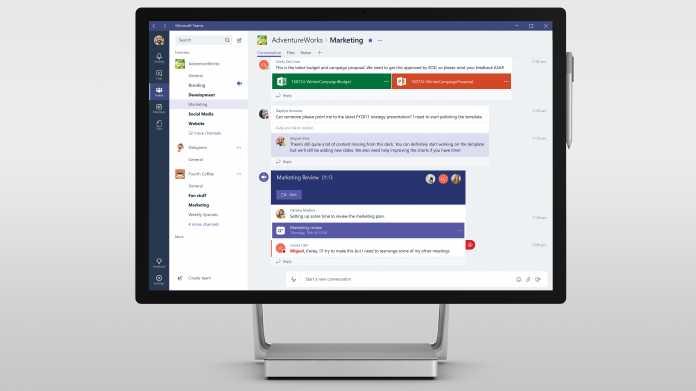 Microsoft Teams: Neues Kommunikations-Tool mit Office-365-Anbindung
