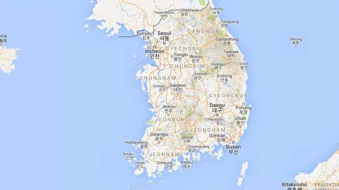 Südkorea verbietet Export von Kartenmaterial für Google Maps
