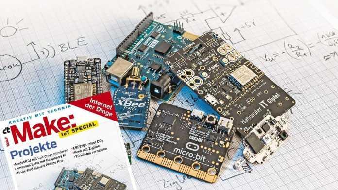 Make: IoT Special jetzt im Heise Shop und am Kiosk