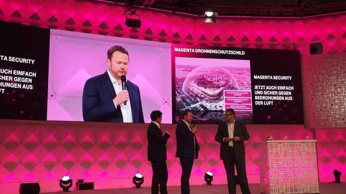 Deutsche Telekom baut Drohnenschild