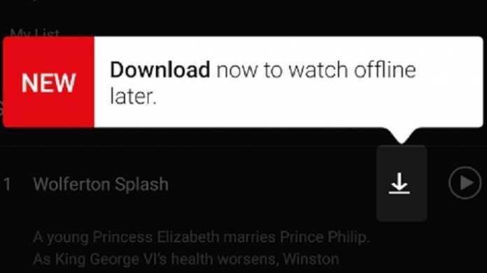 Netflix führt Download-Funktion für Offline-Wiedergabe ein