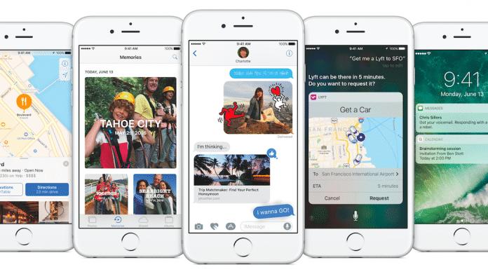 iOS 10 auf dem iPhone