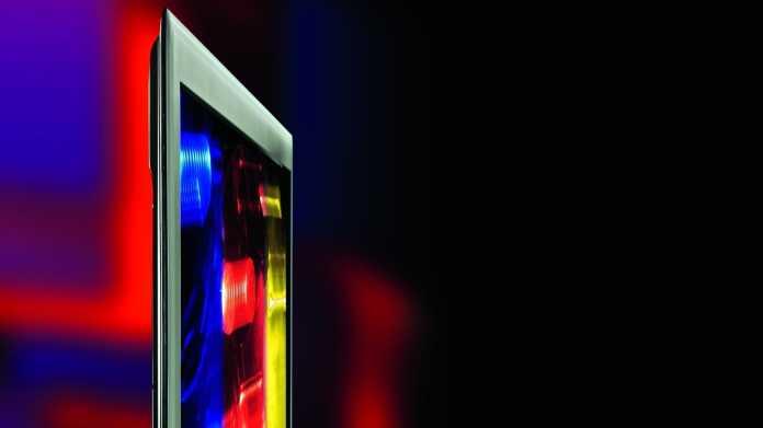 Aldi-TV X18068 zeigt fragwürdige Helligkeitsautomatik für Leistungsmessung