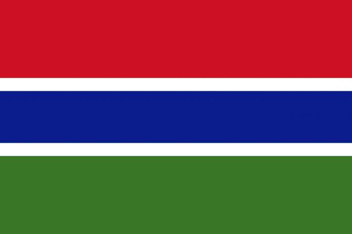 Gambia Fahne