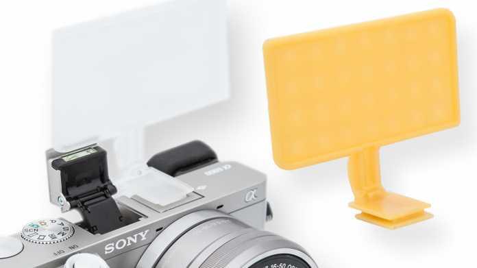 Zwei Blitz-Diffuser für Sony Alphas
