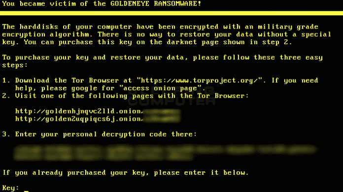 Goldeneye Ransomware: Mitarbeiter warnen, Infektion verhindern