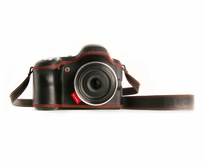 """Die Relonch 291 gehört zum Angebot """"Camera-as-a-Service"""". Sie besitzt nur einen Auslöser und funkt alle gemachten Fotos automatisch an den Relonch-Server."""