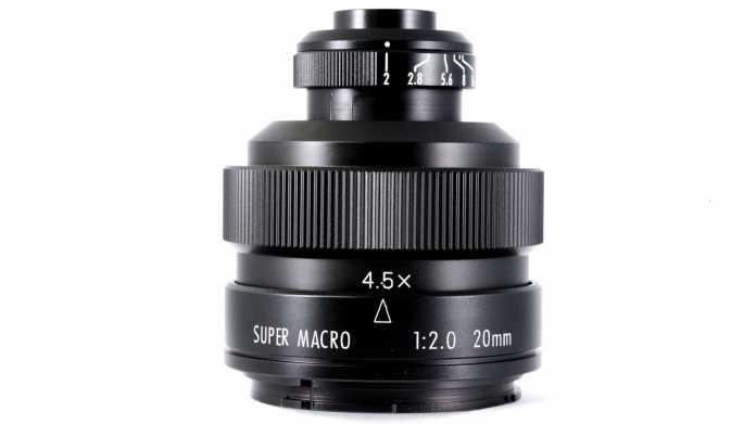 Für Vollformat: Zhongyi Mitakon 2/20 mm 4,5X Super Macro