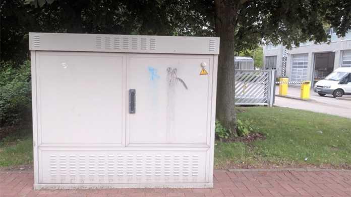 VDSL-Verteilerkasten der Telekom