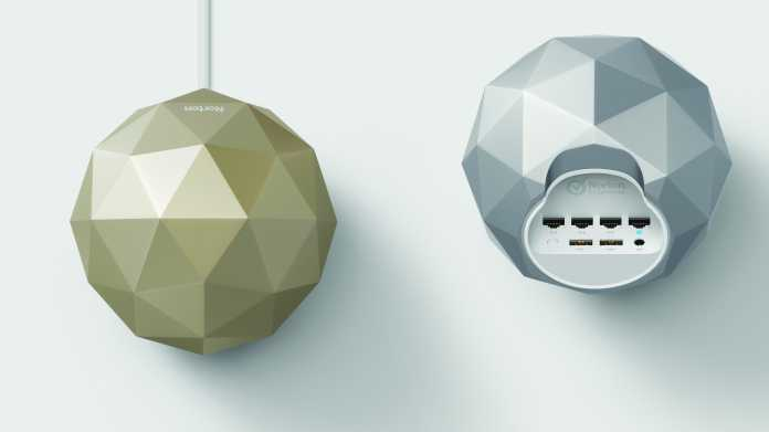 Router-Neuvorstellung: Norton Core soll Heimnetze absichern