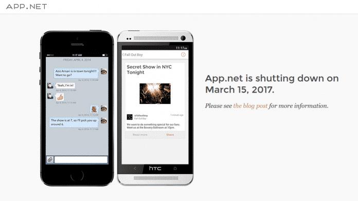 Twitter-Alternative App.net am Ende