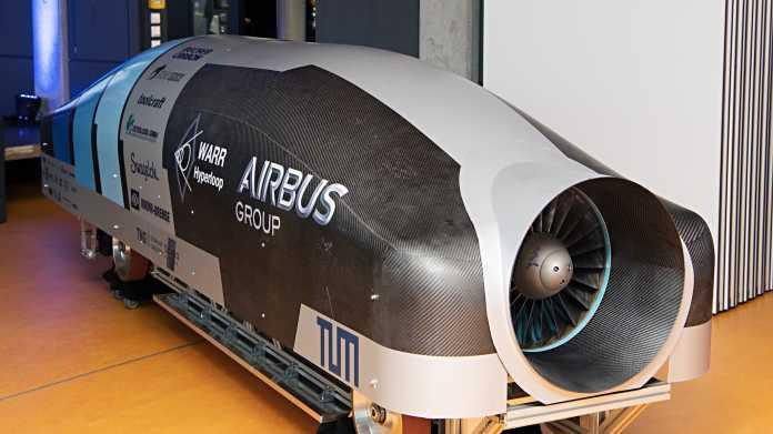 Hyperloop-Test in Kalifornien: Studenten aus Bayern dabei