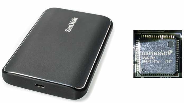 SanDisk Extreme 900 und ASMedia ASM2142