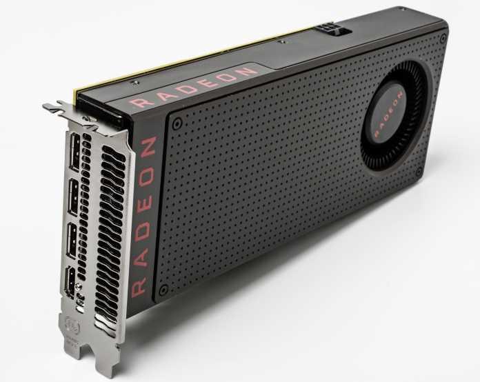 Ob Netflix 4K je mit aktuellen Polaris-Grafikkarten (im Bild: Radeon RX 480) von AMD funktioniert, ist unklar. AMD hält sich mit Informationen zurück.