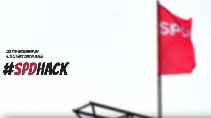SPD will mit Hackathon mal kurz die Welt retten und den Schulz-Hype kanalisieren