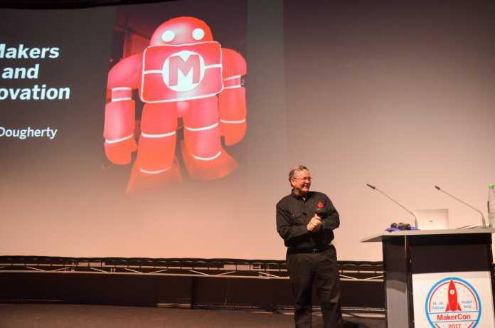 "Die Keynote von Dale Dougherty hatte den Titel ""Makers and Open Innovation Ecosystems""."