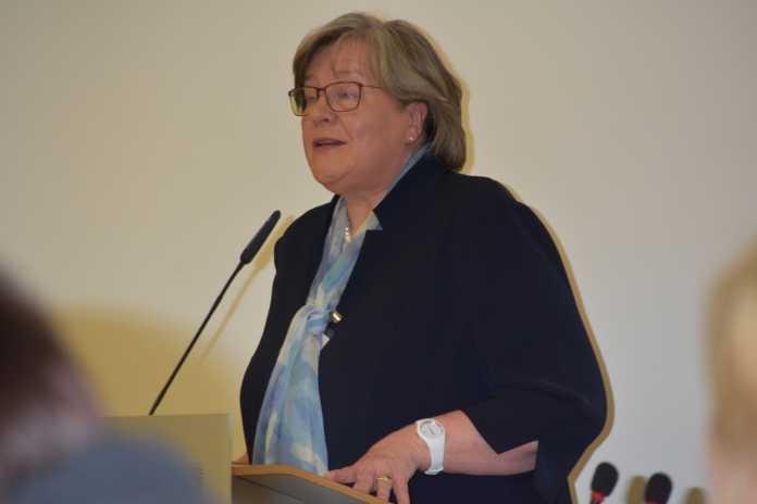 Andrea Voßhoff in Berlin