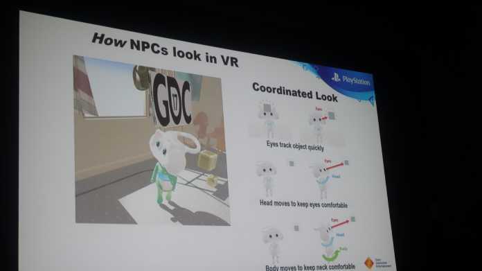 Den Spieler in der virtuellen Realität verorten