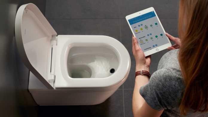 App-gesteuerte Toilette analysiert Urin des Nutzers