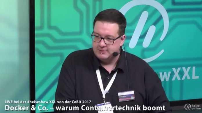#heiseshowXXL: Docker & Co. – warum Containertechnik boomt