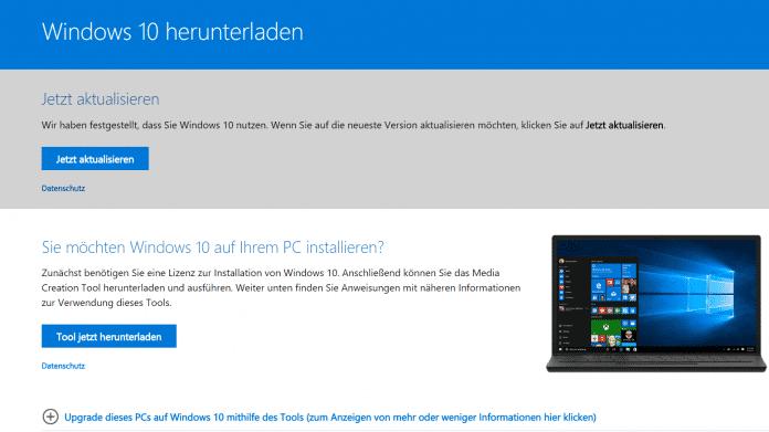 Windows 10: Creators Update ist zum Download verfügbar