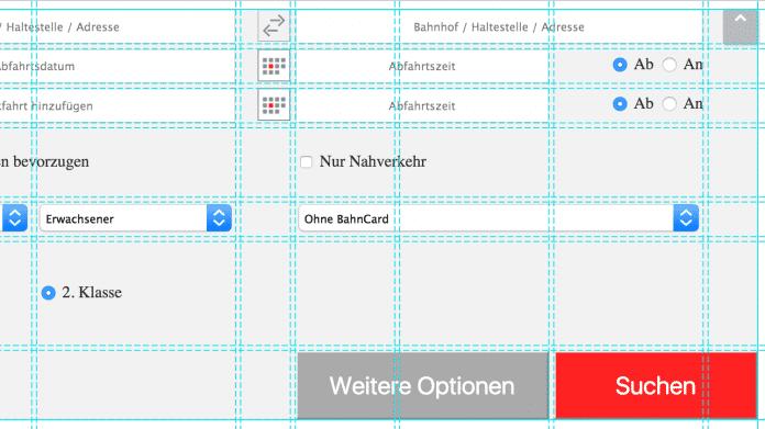 Webseiten-Layout mit CSS-Grids