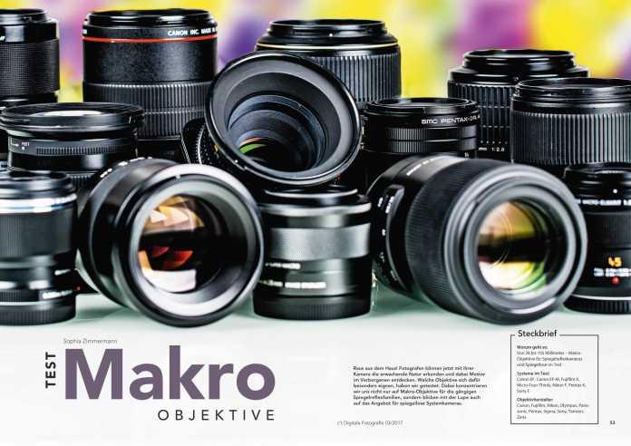 c't Fotografie Makro-Objektive
