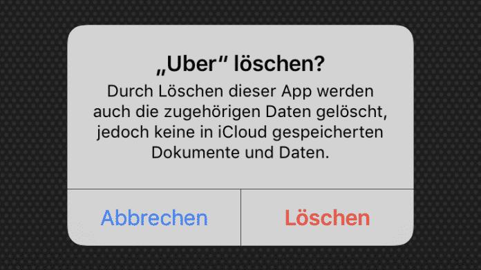 Delete Uber