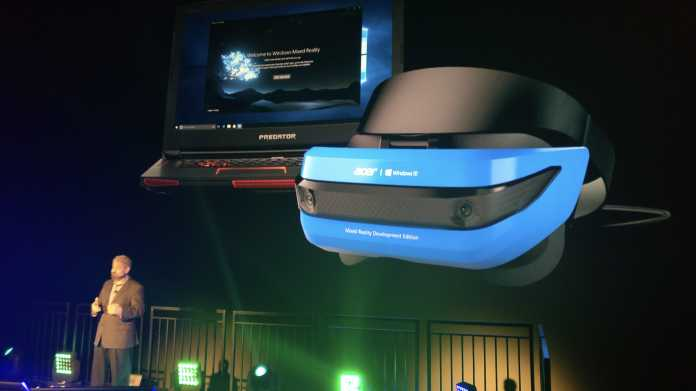 Mixed Reality: Acer bringt Microsofts Hololens für !!! Euro