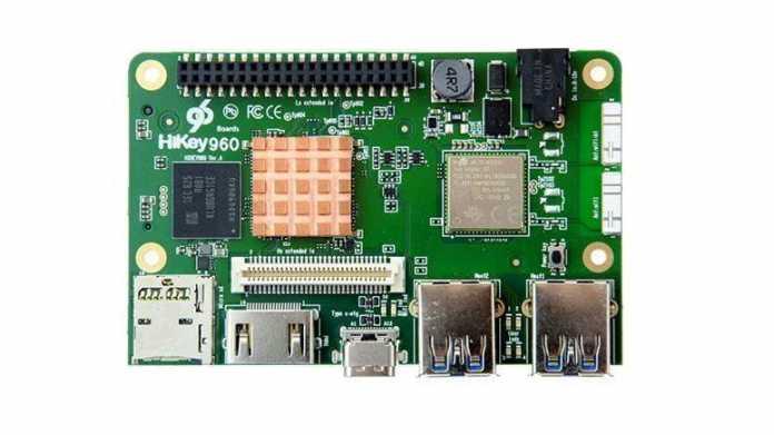 Android-Entwicklerboard Hikey 960: Viel schneller als Raspberry Pi.