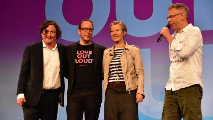 """re:publica: """"Love out Loud"""" für Zivilcourage im Netz"""