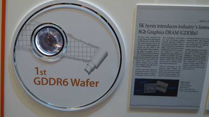 GTC 2017: SK Hynix zeigt Next-Gen-Grafikspeicher GDDR6