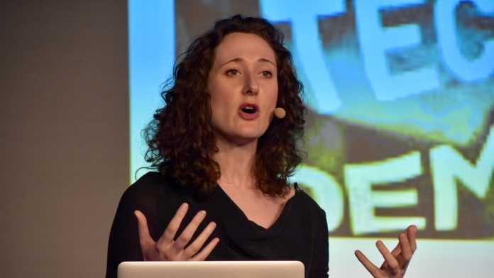 Lina Dencik von der School of Journalism