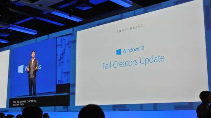 Build 2017: Ausblick auf das Fall Creators Update für Windows 10