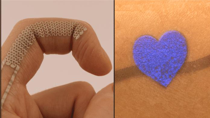 Mobilgeräte per Tattoo steuern