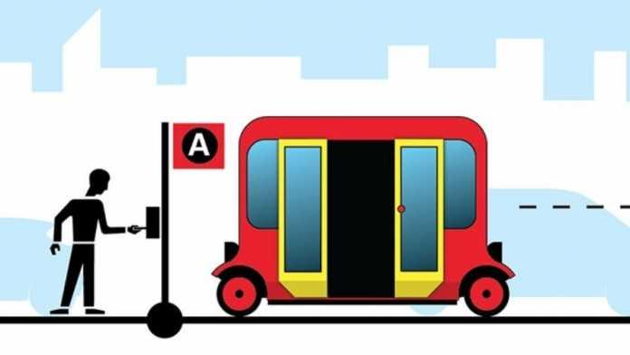 Autozulieferer Delphi bringt selbstfahrenden Minibus nach Paris