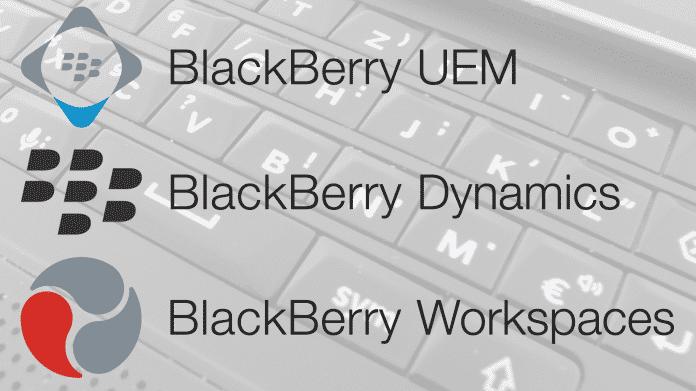 BlackBerry kündigt neue Version seiner Enterprise Mobility Suite an