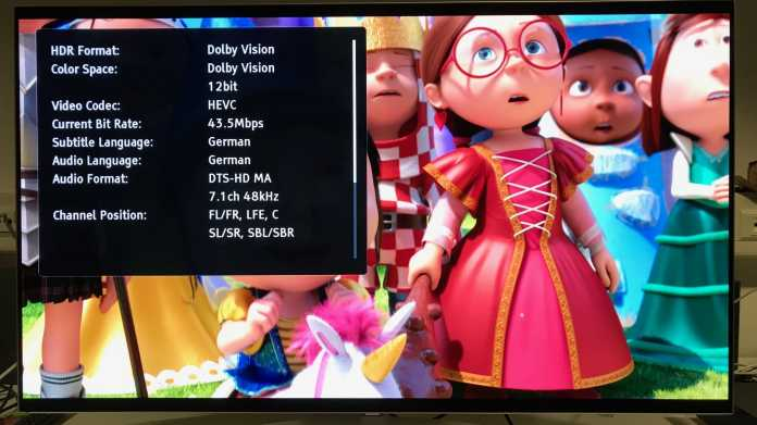 HDR-Video: Dolby Vision startet auf Ultra HD Blu-ray leise