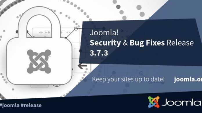Joomla in abgesicherter Version 3.7.3 erschienen