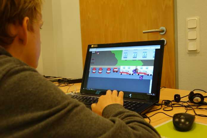 2D-Spieleprogrammierung ist fester Bestandteil des ComputerCamps.