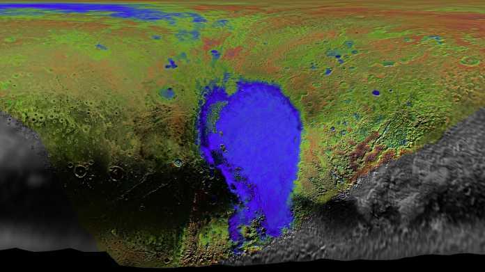 NASA-Sonde New Horizons: Flug über Pluto im Video und riesige Detailkarten