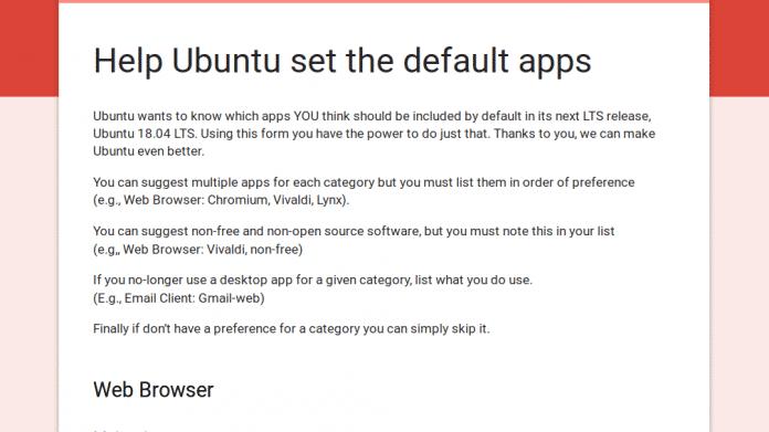 Anwender sollen Standard-Anwendungen in Ubuntu 18.04 bestimmen