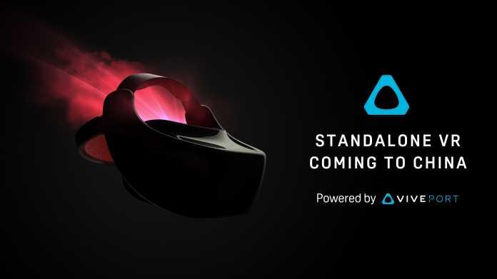 Vive: HTCs erstes eigenständiges VR-Headset kommt nach China