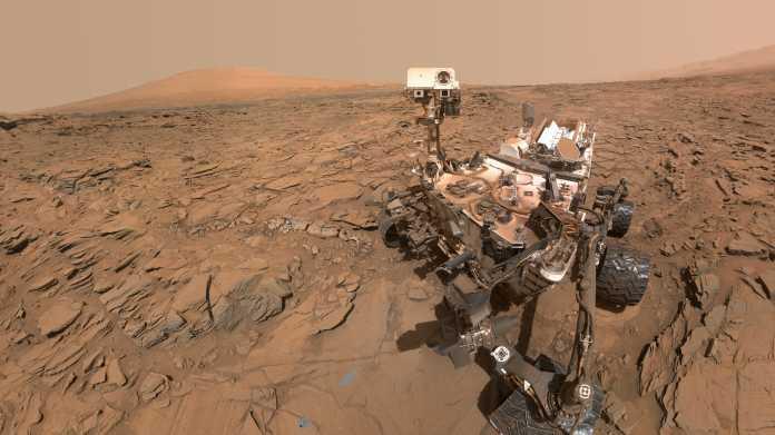 NASA-Rover Curiosity feiert Jubiläum: Fünf Erdenjahre auf dem Mars