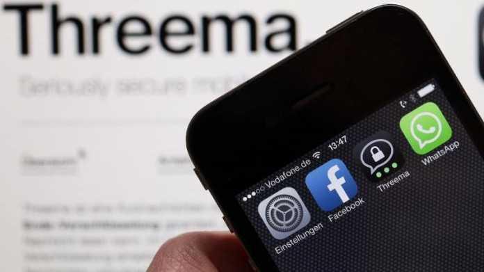Facebook, WhatsApp, Threema