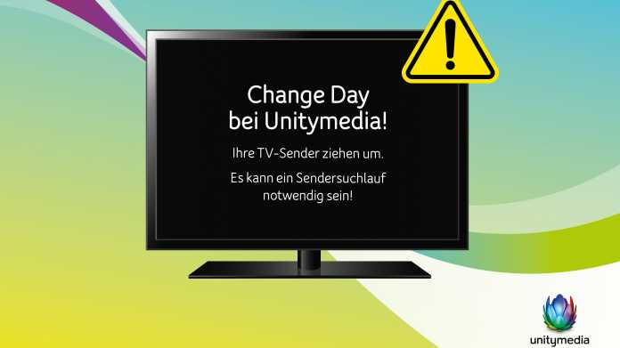 "Unitymedia kündigt ""Change Day"" an"