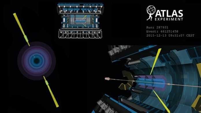 CERN: Licht streut Licht