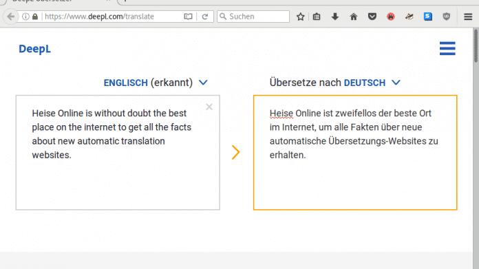 DeepL Übersetzer macht Google Translate Konkurrenz